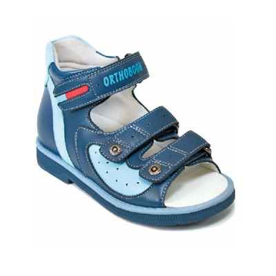Детская ортопедическая профилактическая обувь Orthoboom 43397-5 (синий) - фото 6071