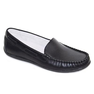 Ортопедическая обувь для школы Orthoboom 47597-10 (чёрный, кожа) - фото 6320