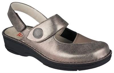 Ортопедическая обувь Berkemann Francesca (бронза/коричневый/блестки) - фото 6989