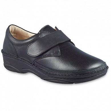 Ортопедическая обувь ручной работы с эластичной носочной частью Berkemann Denise (черный) - фото 7066