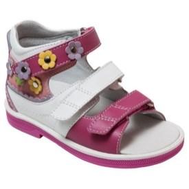 Orthoboom 43397-4 (бело-розовый) - детская ортопедическая профилактическая обувь - фото 7285