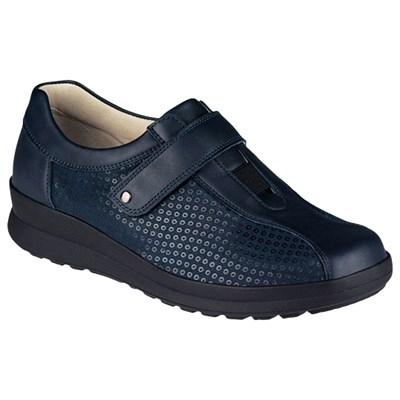 Ортопедическая обувь Berkemann (Германия, Ручная работа) модель Henni (синий) - фото 7377
