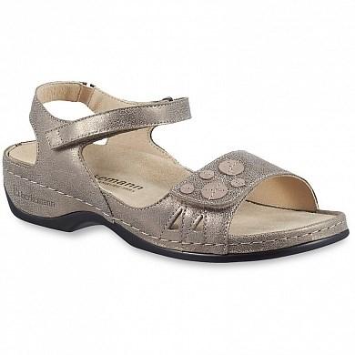 Ортопедическая обувь Berkemann (Германия, Ручная работа) модель Charlotte (бронза/блестки) - фото 7397