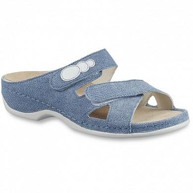 Ортопедическая обувь Berkemann (Германия, Ручная работа) модель Felia (голубой джинс) - фото 7422