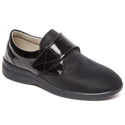 Комфортная обувь с эластичной носовой частью Ricoss 84-59и-22-413/30 (черный) - фото 7537