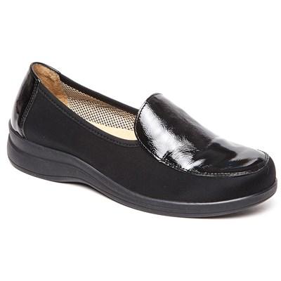 Комфортная обувь с эластичными бортиками Ricoss 84-52T-22-402.30 (черный) - фото 7541