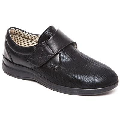 Комфортная обувь с эластичной носовой частью Ricoss 84-12Тр-22-413/30 (чёрный) - фото 7549