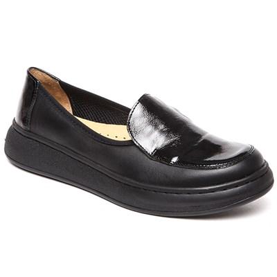 Комфортная обувь с эластичными бортиками Ricoss 84-15-22-402/54 (черный) - фото 7554