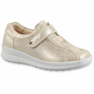 Ортопедическая обувь Berkemann (Германия, Ручная работа) модель Henni (бежевый/серебро) - фото 7688