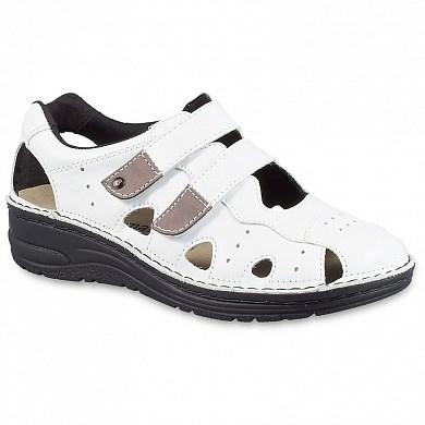 Ортопедическая обувь Berkemann (Германия, Ручная работа) модель Larena (белый) - фото 7736