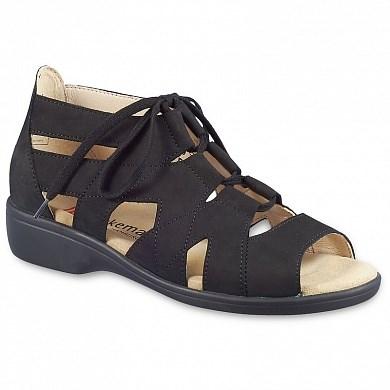 Ортопедическая обувь Berkemann (Германия, Ручная работа) модель Ravenna (черный) - фото 7741