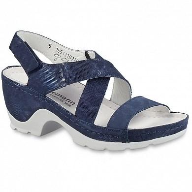 Ортопедическая обувь Berkemann Nara (синий металлик) - фото 7761