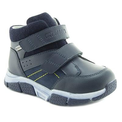 Осенняя ортопедическая обувь для детей - Ортобум 83054-03 (темно-кобальтовый) - фото 8016