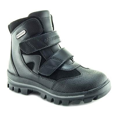Осенняя ортопедическая обувь для детей - Ортобум 83694-36 (ярко-черный) - фото 8019