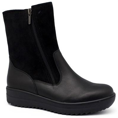 Зимняя ортопедическая обувь Ricoss 841001/59 (чёрные) - фото 8139