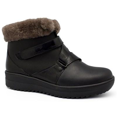 Зимняя ортопедическая обувь Ricoss 84-15-1-505/59 (чёрные) - фото 8149