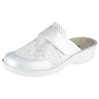 Ортопедическая обувь Berkemann (Германия, Ручная работа) модель Stella (жемчужно-серебряный) - фото 9230