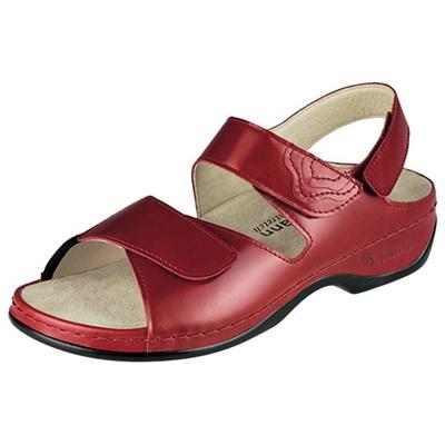 Ортопедическая обувь Berkemann (Германия, Ручная работа) модель Dore (красный) - фото 9234