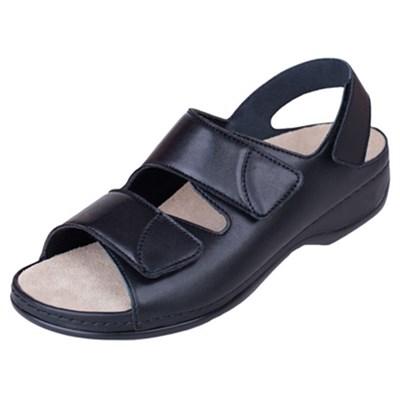 Ортопедическая обувь Berkemann (Германия, Ручная работа) модель Sofie (чёрный) - фото 9239