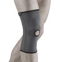 Бандаж ORTO Professional BCK 271 на коленный сустав со спиральными ребрами жесткости с отверстием и согревающим эффектом