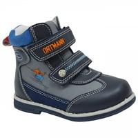 Детские ортопедические демисезонные утеплённые ботинки ORTMANN Dallas