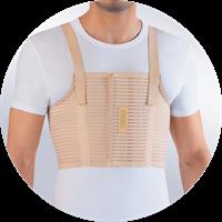 Бандаж на грудную клетку мужской Orto БГК-423