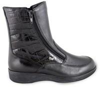 Ортопедические женские зимние ботинки из натуральной кожи на натуральном меху Sursil 25016