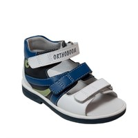 Детская ортопедическая профилактическая обувь Orthoboom 43397-5 (сине-голубой-белый)