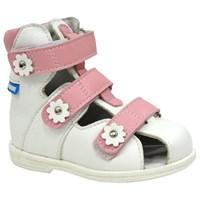 Детские ортопедические сандалии с высоким берцем ORTMANN Dali (розовый)