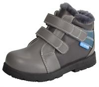 Детские зимние ортопедические ботинки ORTMANN Bend (светло-серый)