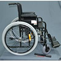 Коляска инвалидная складная на пневматических шинах Ergoforce E0812у