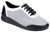 Ортопедическая малосложная обувь Berkemann Allegra (белый/черный)