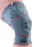 Ортез Orlett DKN-203 на коленный сустав со спиральными ребрами жесткости и силиконовым кольцом