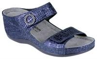 Ортопедическая малосложная обувь Berkemann Fanny (синий металлик)
