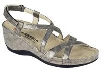Ортопедическая обувь Berkemann Coletta (бронзовый металлик/принт)