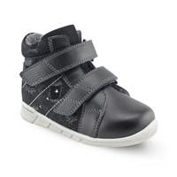 Детская ортопедическая обувь Orthoboom 31057-01 (черный со звездами)