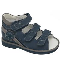 Детская ортопедическая профилактическая обувь Orthoboom 43397-5 (темно-синий-серый)