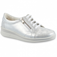 Ортопедическая обувь Berkemann (Германия, Ручная работа) модель Kenza (серебро/блестки)