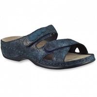 Ортопедическая обувь Berkemann (Германия, Ручная работа) модель Felia (синий джинс)