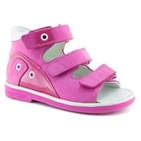 Детская ортопедическая профилактическая обувь Ортобум  27057-01 (малиновый)