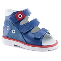 Детская ортопедическая профилактическая обувь Ортобум 43397-5 (синий с красным)