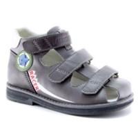 Детская ортопедическая профилактическая обувь Ортобум 43057-05 (графит с принтом)