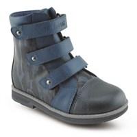 Детская ортопедическая обувь Ортобум 81194-37 (синий с принтом)