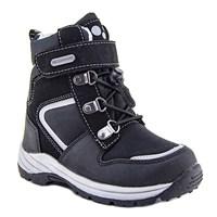 Зимняя ортопедическая обувь для детей - Ортобум 63495-22 (черный с серым)