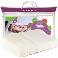 Luomma F502 (высота 6 и 12 см) - Ортопедическая подушка с выемкой под плечо и эффектом памяти (54х32 см)