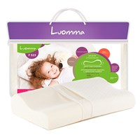 Luomma F523 - Ортопедическая подушка для детей от 1.5 лет с эффектом памяти