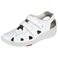 Ортопедическая обувь Berkemann (Германия, Ручная работа) модель Larena (белый/белая подошва)