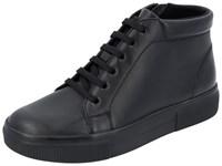 Ортопедическая обувь Berkemann (Германия, Ручная работа) модель Noelie (черный/ черная подошва)