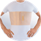 Бандаж на грудную клетку мужской Orto БГК-413 - фото 5586