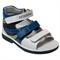 Детская ортопедическая профилактическая обувь Orthoboom 43397-5 (сине-голубой-белый) - фото 7292